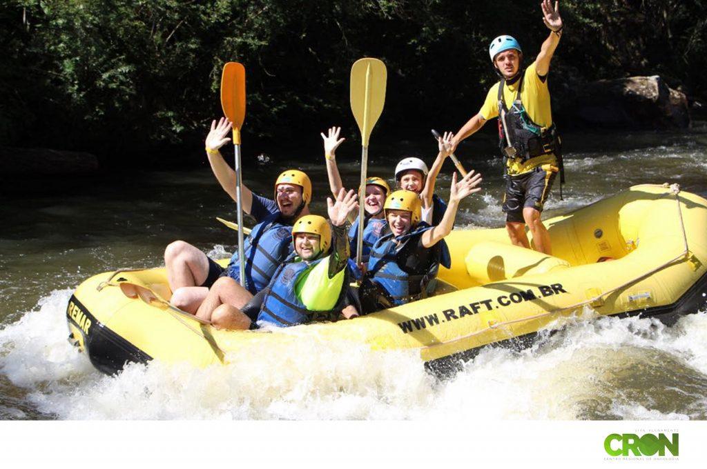 Equipe CRON no Rafting!